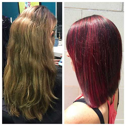Gorgeous Red Short Haircuts - 20