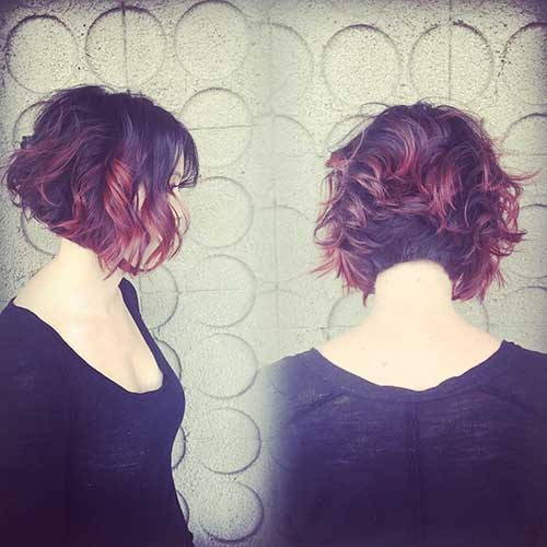 Nice Short Cuts for Curly Hair - 20