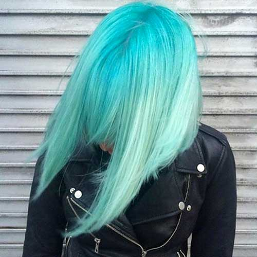 Nice Short Green Hair - 20