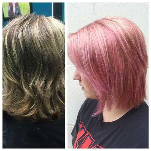 Short Pink Hair - 20