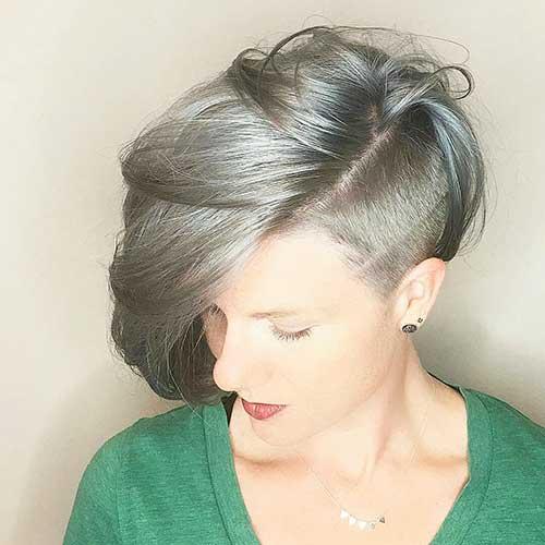 Short Silver Hair - 20
