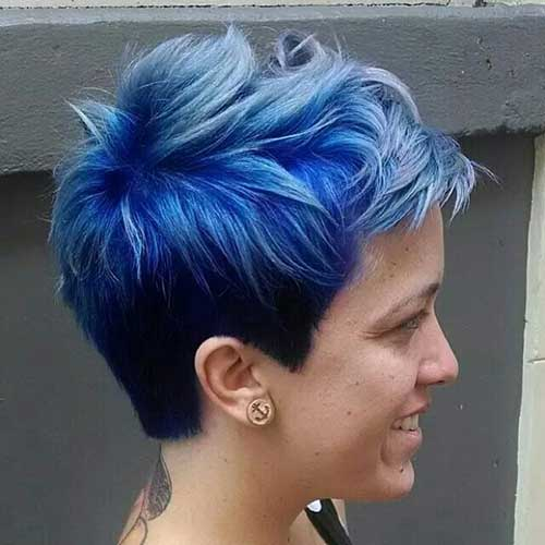 Hair Color for Short Hair-20