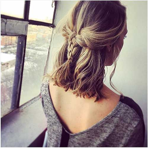 Braids for Short Hairstyle - 22