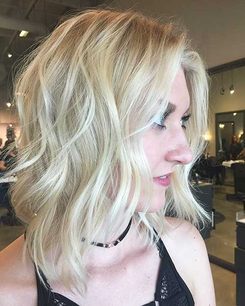 Short Blonde Hairstyle - 22