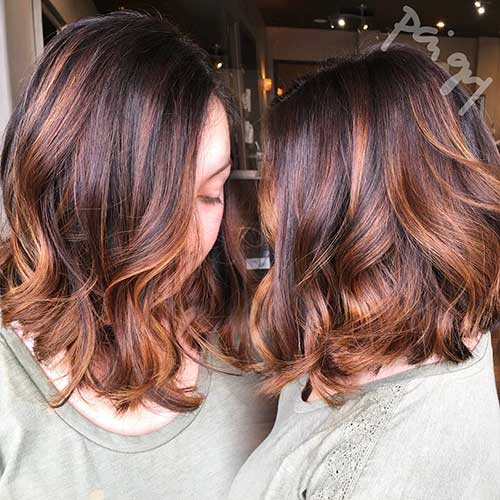 Short Cuts for Curly Hairstyle - 22