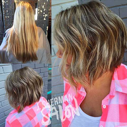 Short Hairstyle Color - 22