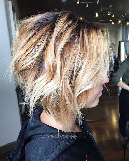 Short Hairstyle for Fine Hair - 22
