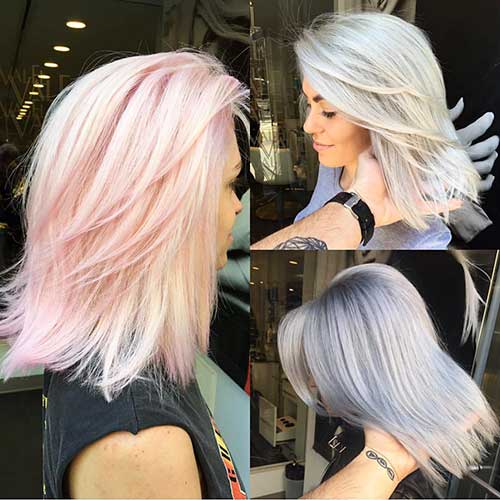 Short Pink Hairstyle - 22
