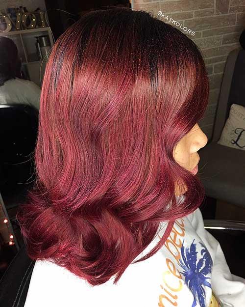 Red Short Haircuts - 23