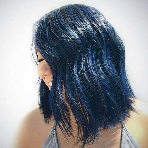 Short Blue Hair - 23