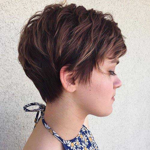 Short Brown Hair - 23