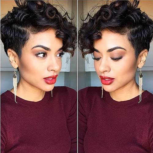 Short Cuts for Curly Hair - 23