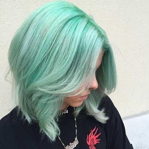 Short Green Hair - 23