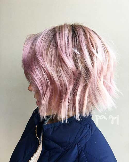 Short Pink Hair - 23