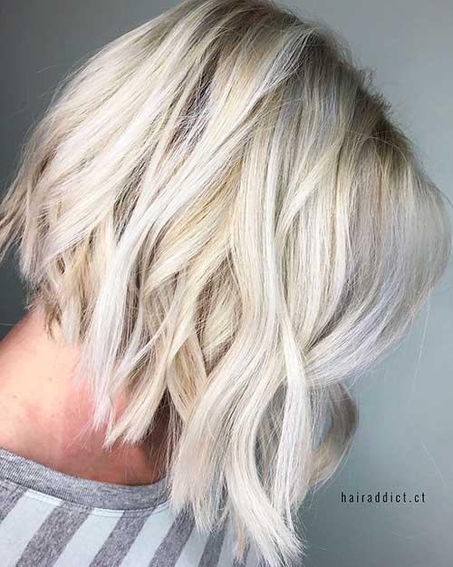 Short Wavy Hair - 23