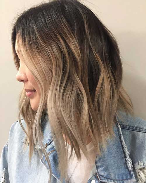 Balayage Short Hair 2017 - 24
