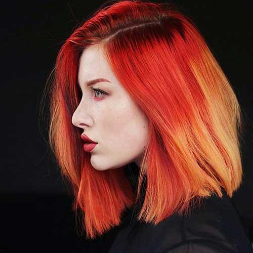 Red Short Haircuts 27
