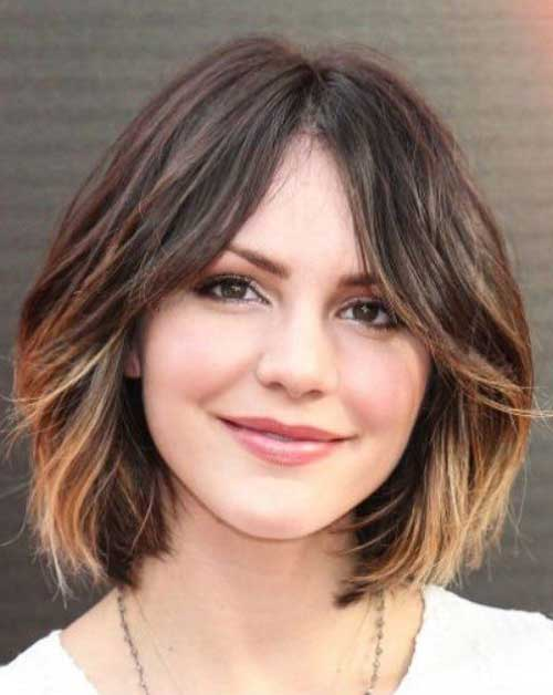 cute short haircuts for round faces 1000 ideas about bobs for faces on 1143 | 27.Short Haircut For Round Face
