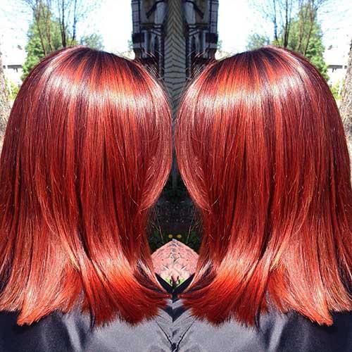 Red Short Haircuts 2017 - 28