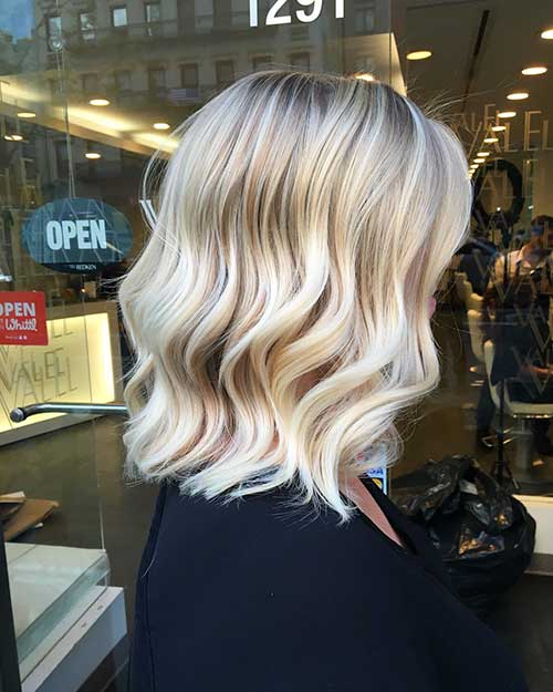 Short Blonde Hair 2017 - 28
