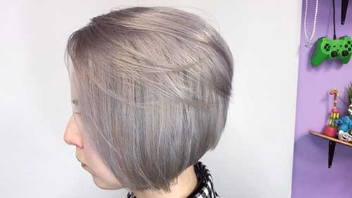 Short Grey Hair 2017 - 28