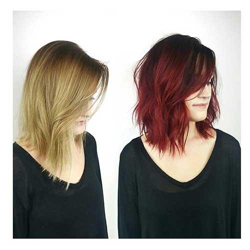 Red Short Haircuts 2017