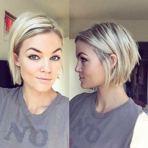Short Hairstyles for Fine Hair 2017