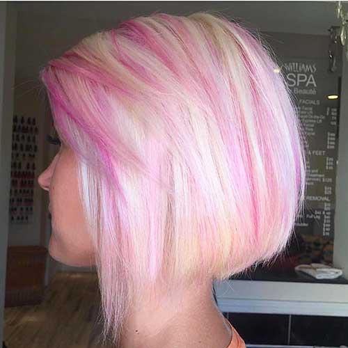 Short Pink Hair 2017