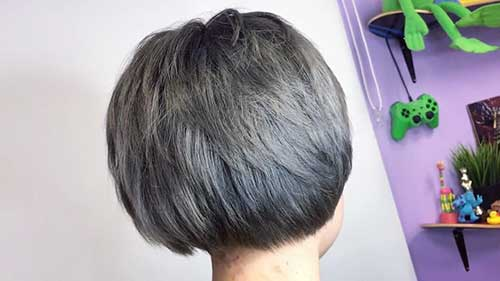 Short Grey Hairstyle - 30