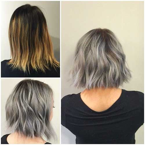 Short Grey Hair 2017 - 32