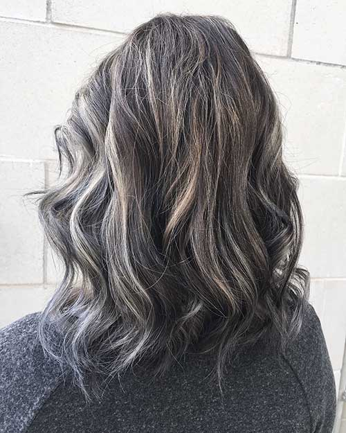New Short Grey Hair - 33