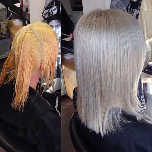 Medium Short Haircut - 34