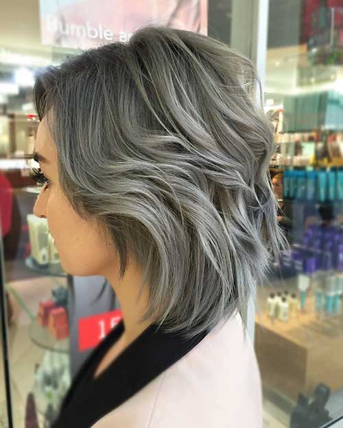 New Short Grey Hair - 37