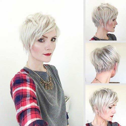 Really cool pictures of short hair with long bangs the best short hair long bangs urmus Choice Image