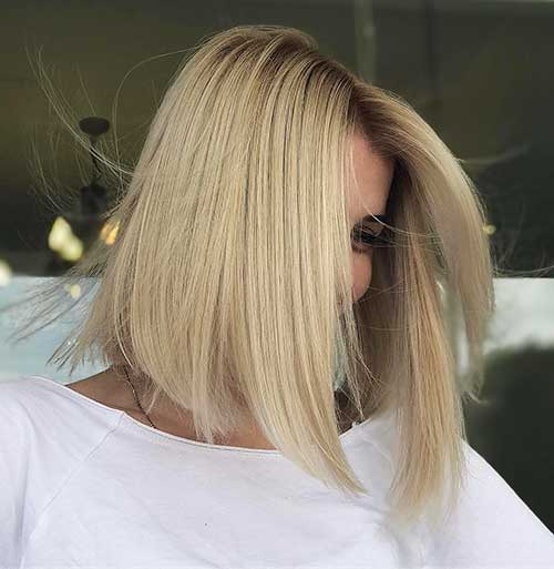 New Short Blonde Hair - 6