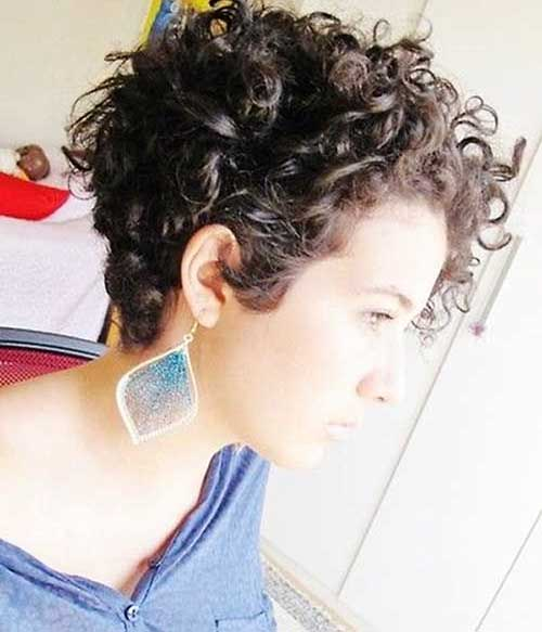 New Short Curly Hairstyles for Women - 6