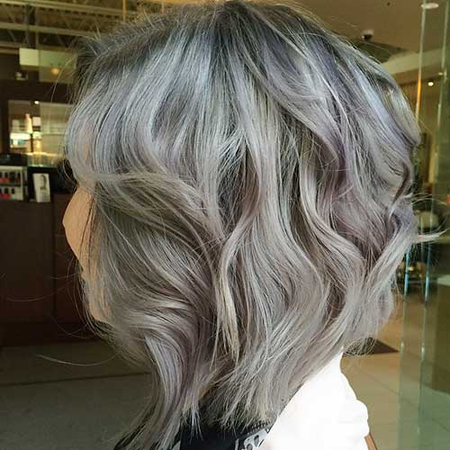 New Short Grey Hair - 6