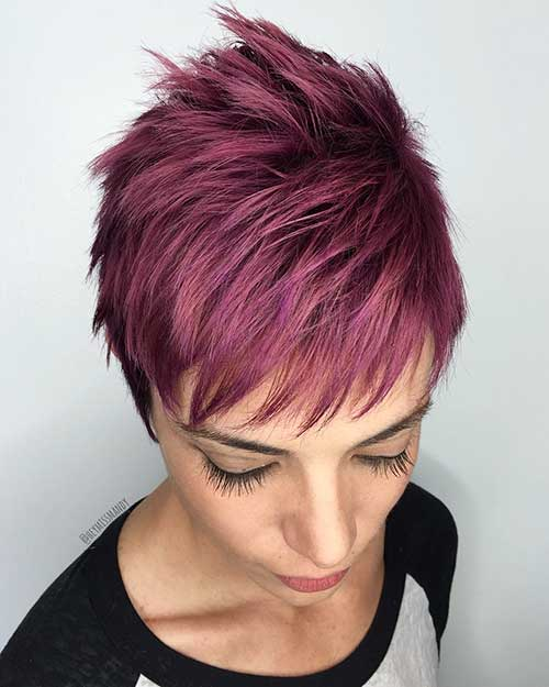 New Short Hair Color - 6