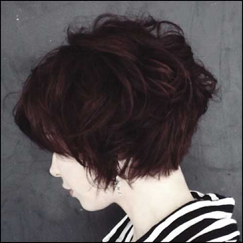 New Short Haircuts for Thick Hair - 6