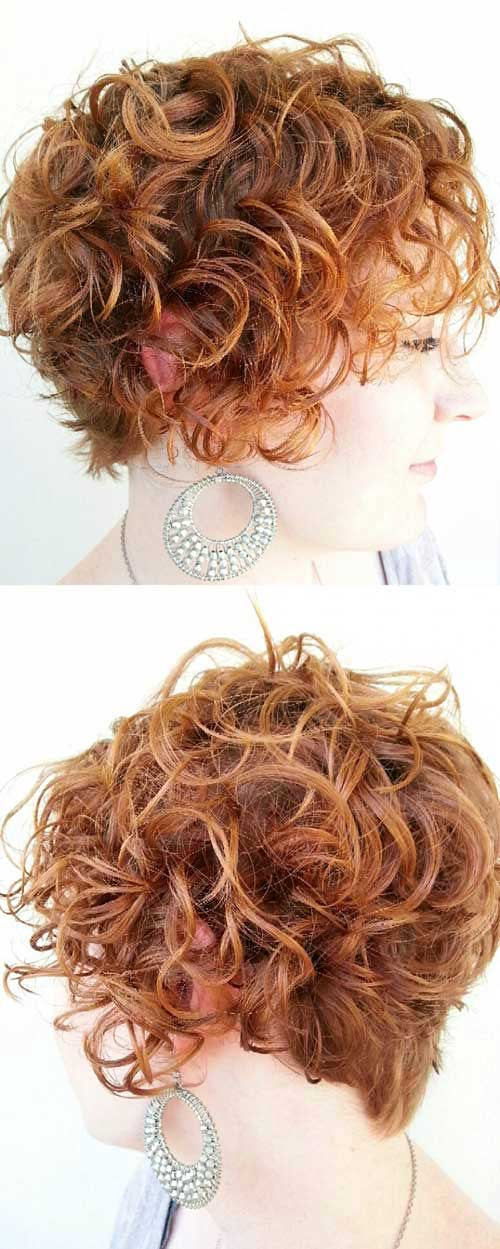 Nice Short Cuts for Curly Hair - 6