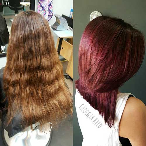 Red Short Haircuts - 7