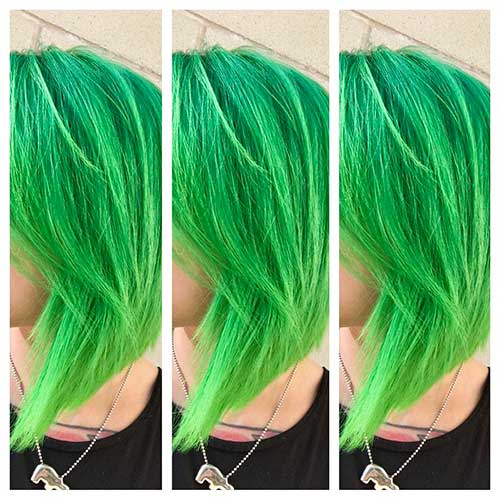 Short Green Hair - 7
