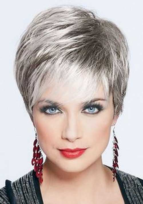 Short Grey Hair - 7
