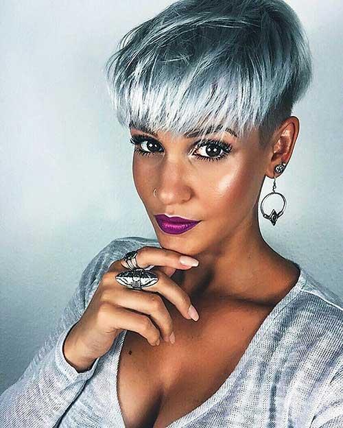 Short Silver Hair - 7