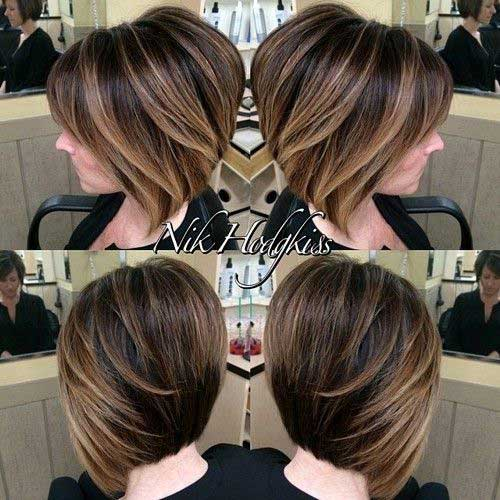 Short Hairstyles for Thick Hair-7