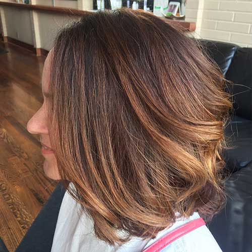 Balayage Short Hair 2017 - 8
