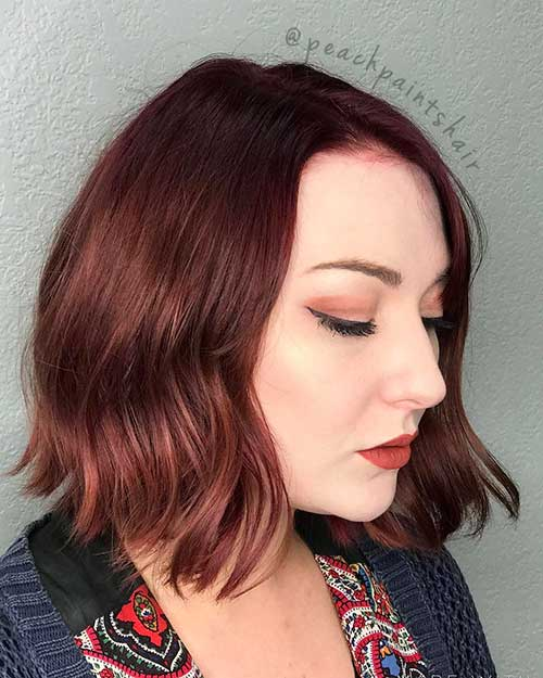 Red Short Haircuts 2017 - 8