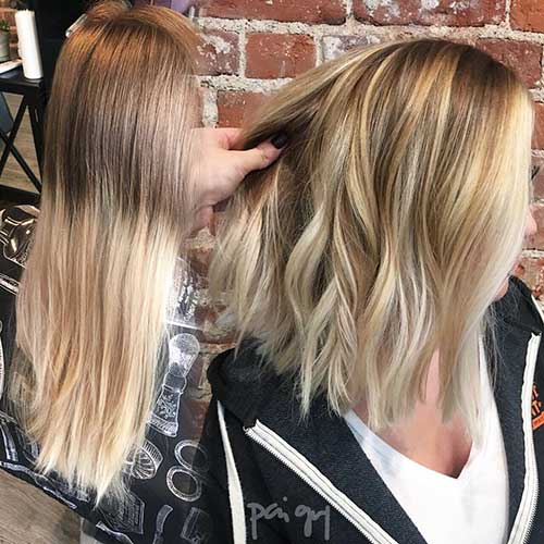 Short Blonde Hairstyles 2017 - 8