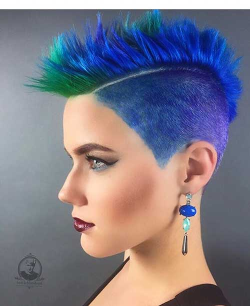 Short Blue Hair 2017 - 8