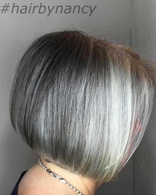 Short Grey Hair 2017 - 8